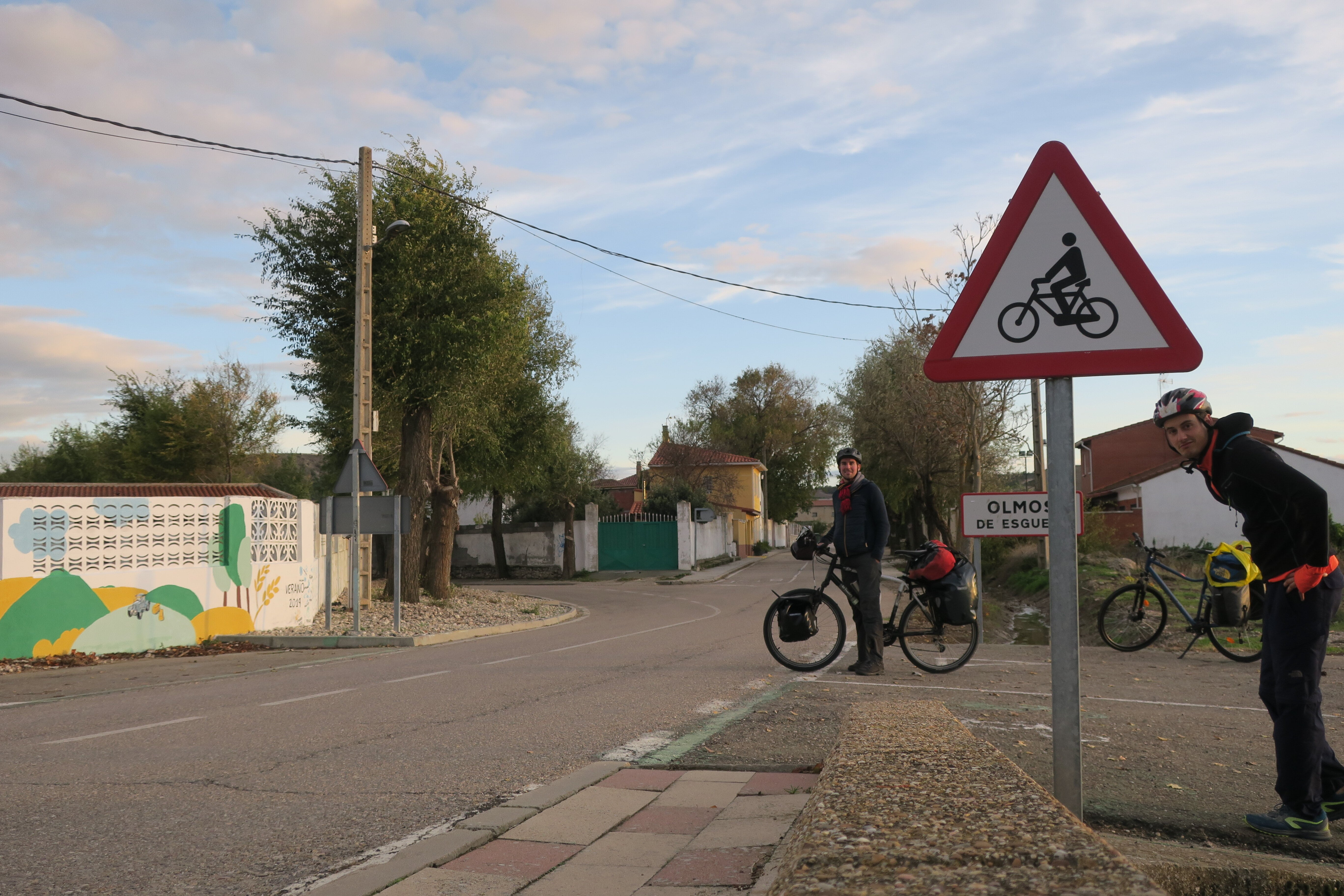 village de Olmos de Esgueva en Espagne