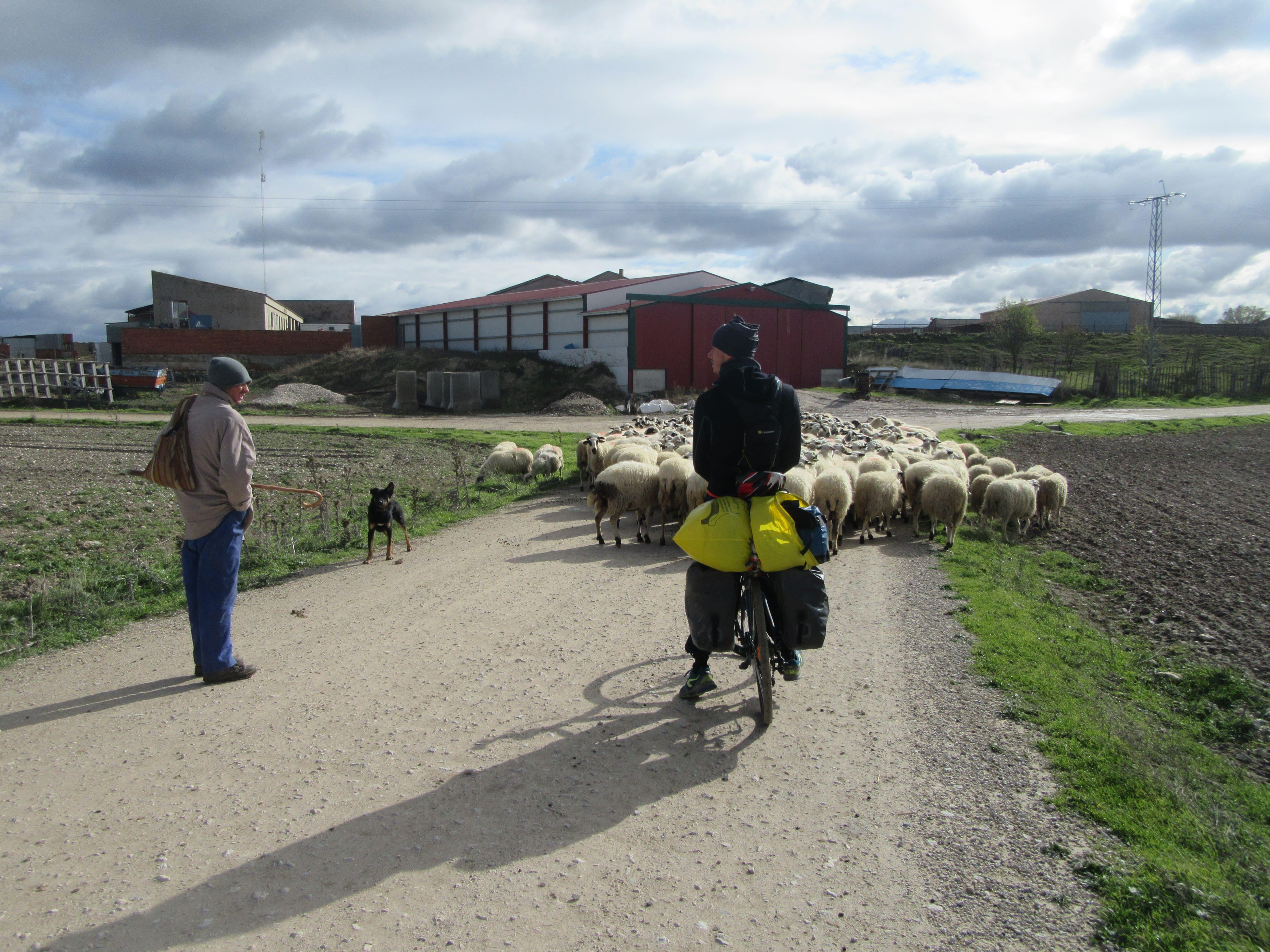 rencontre voyage a vélo Espagne