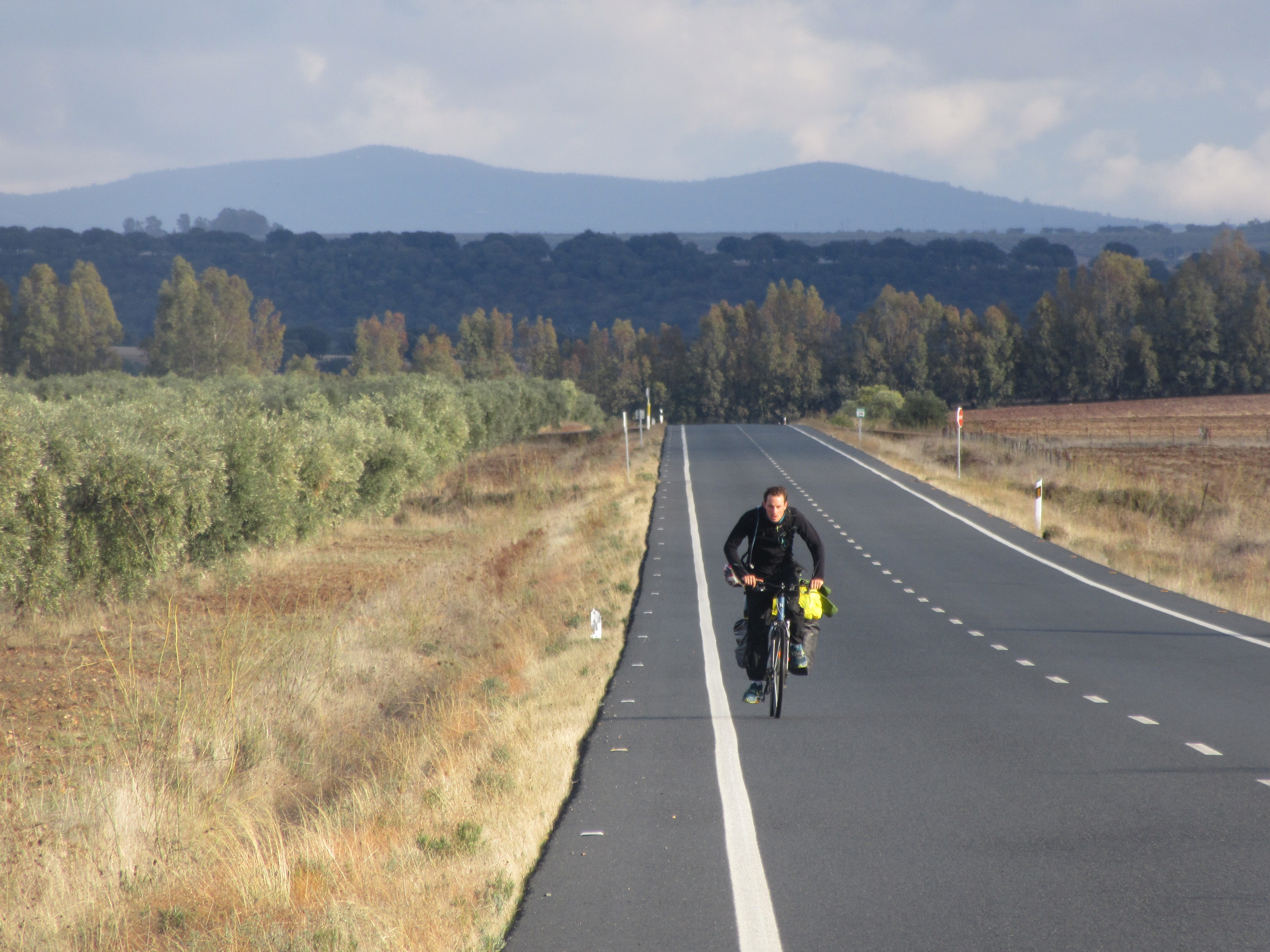voyage a vélo en Estremadure en Espagne