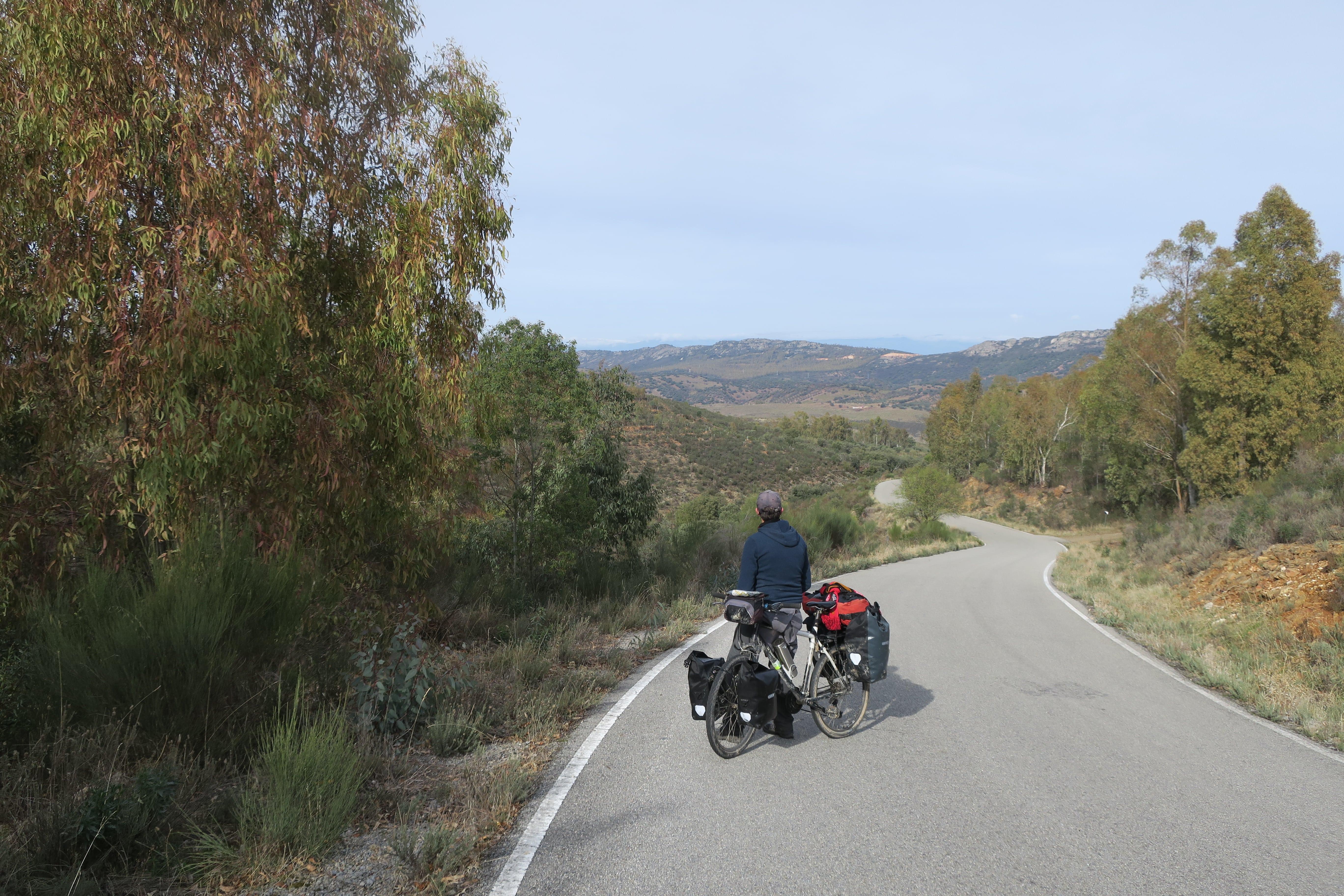 voyage à vélo montagne Estremadure