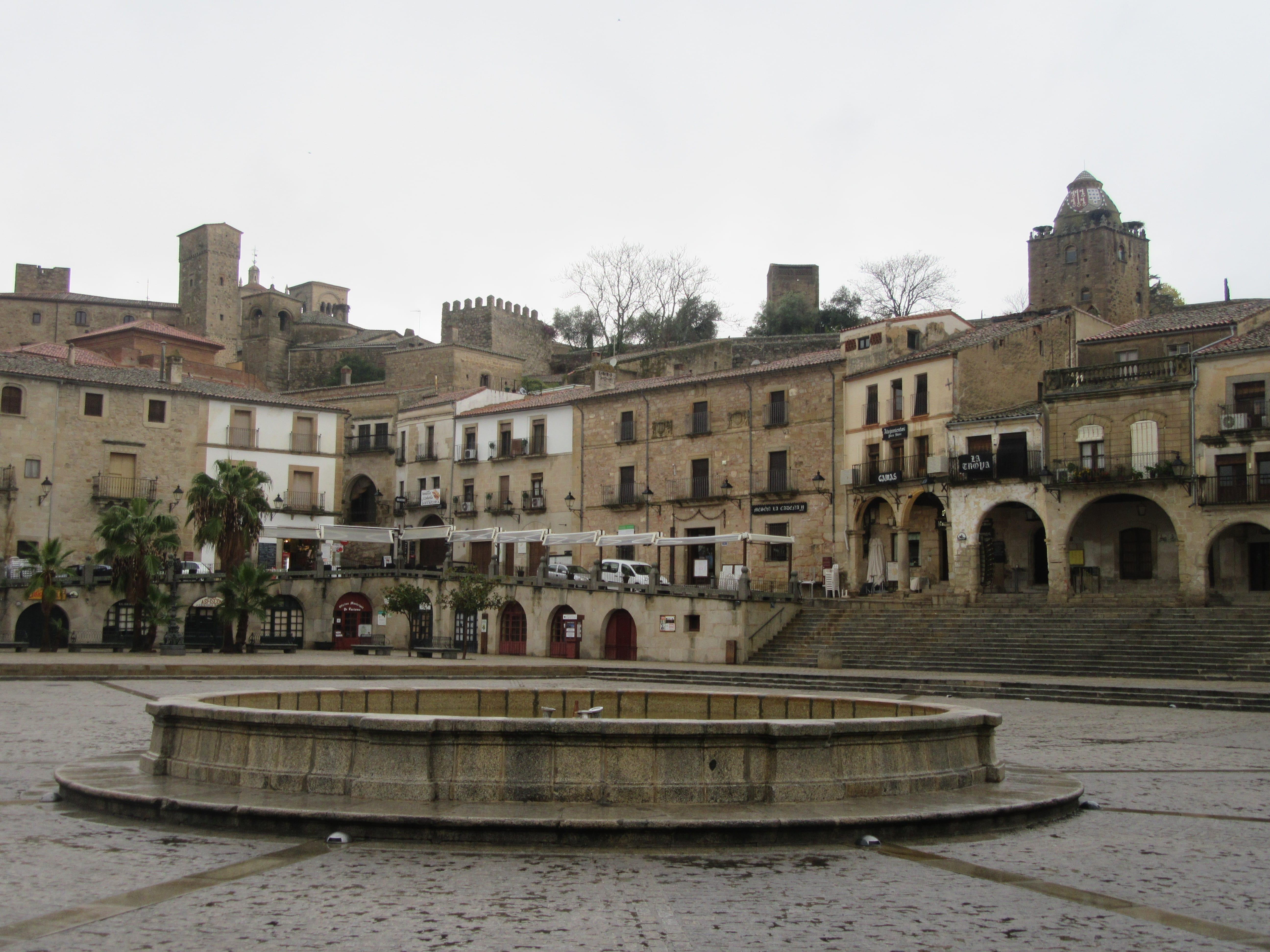 la ville de Trujillo en Estremadure en Espagne