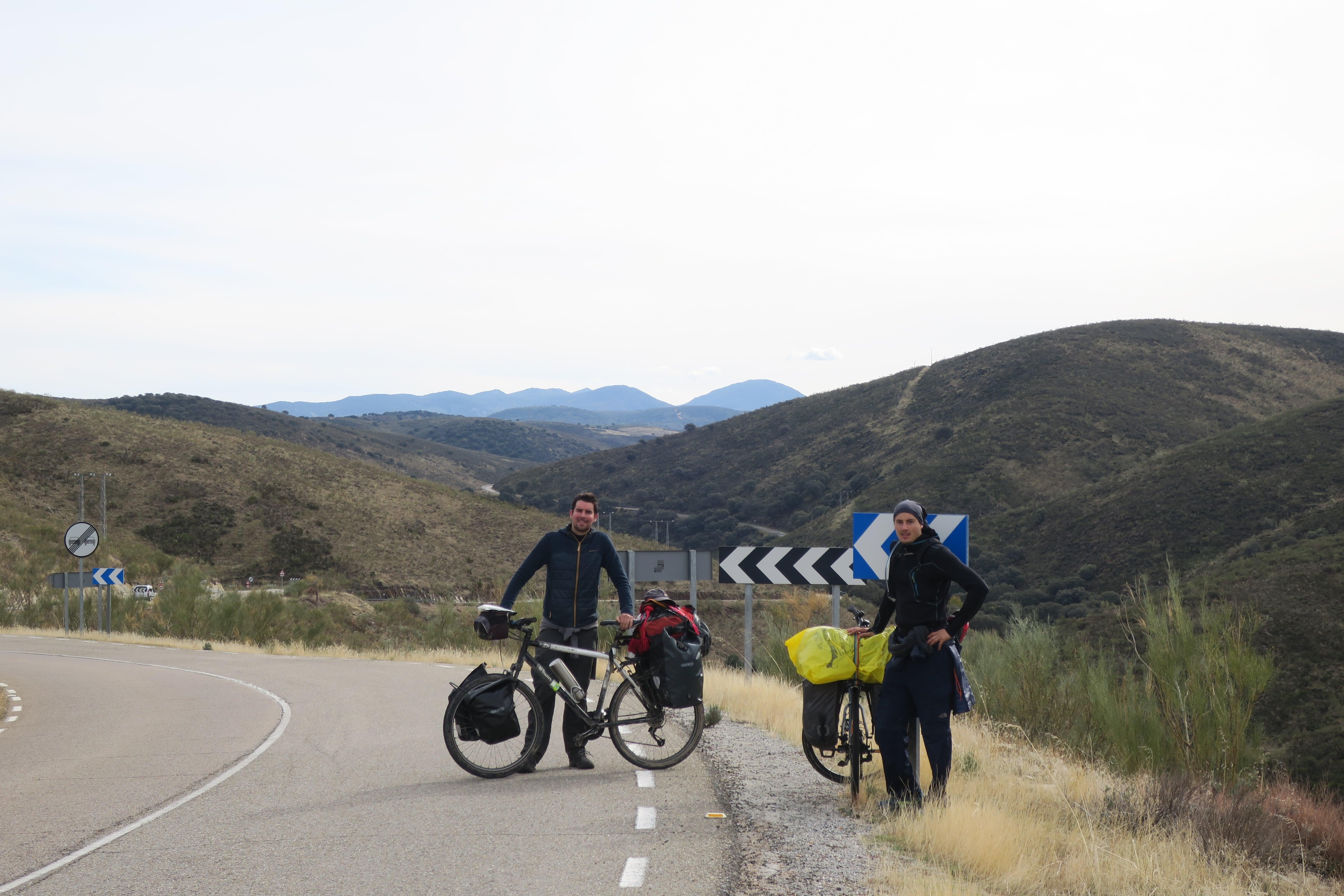 Voyage à vélo en Espagne entre amis