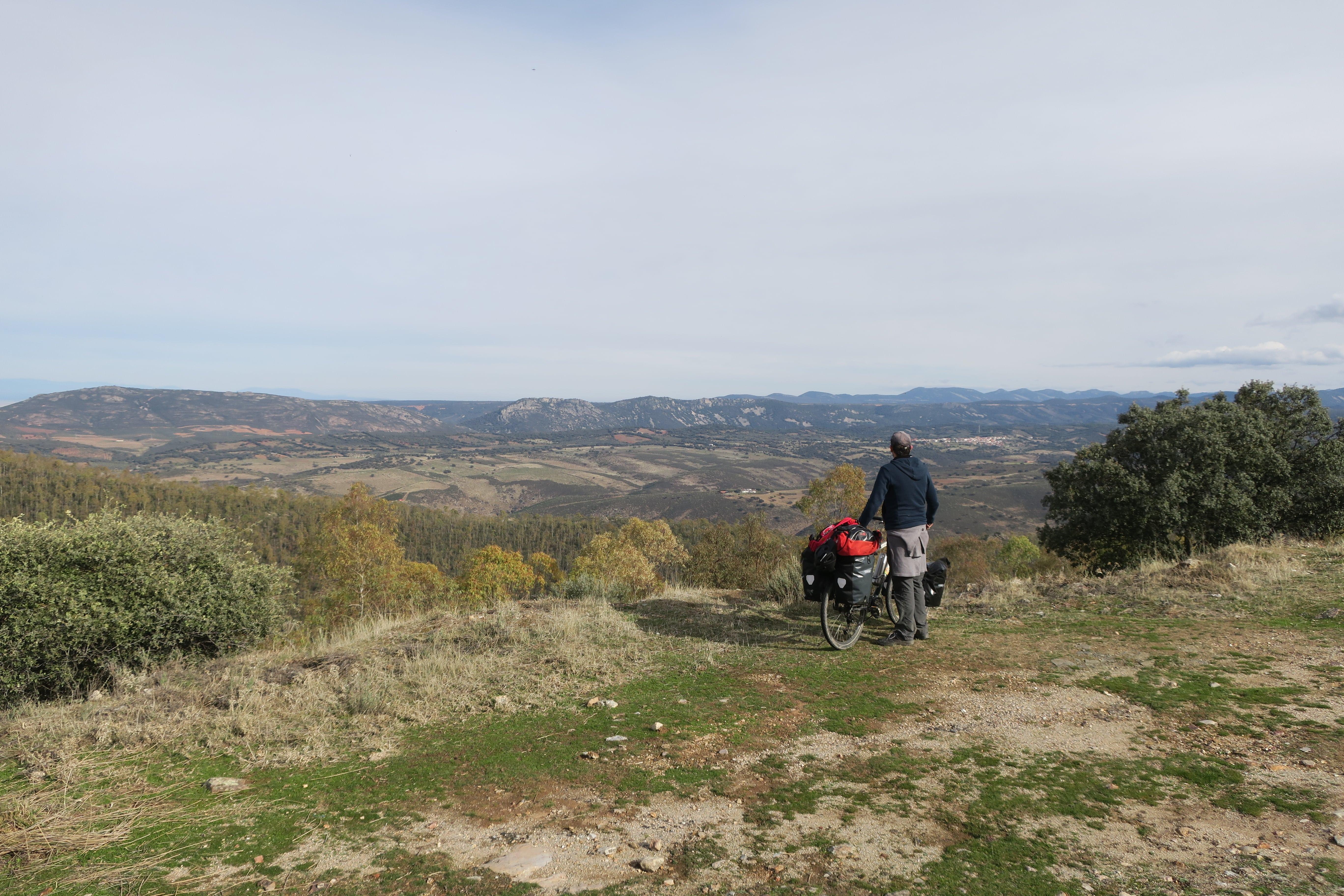 Voyage a vélo en Estremadure Espagne