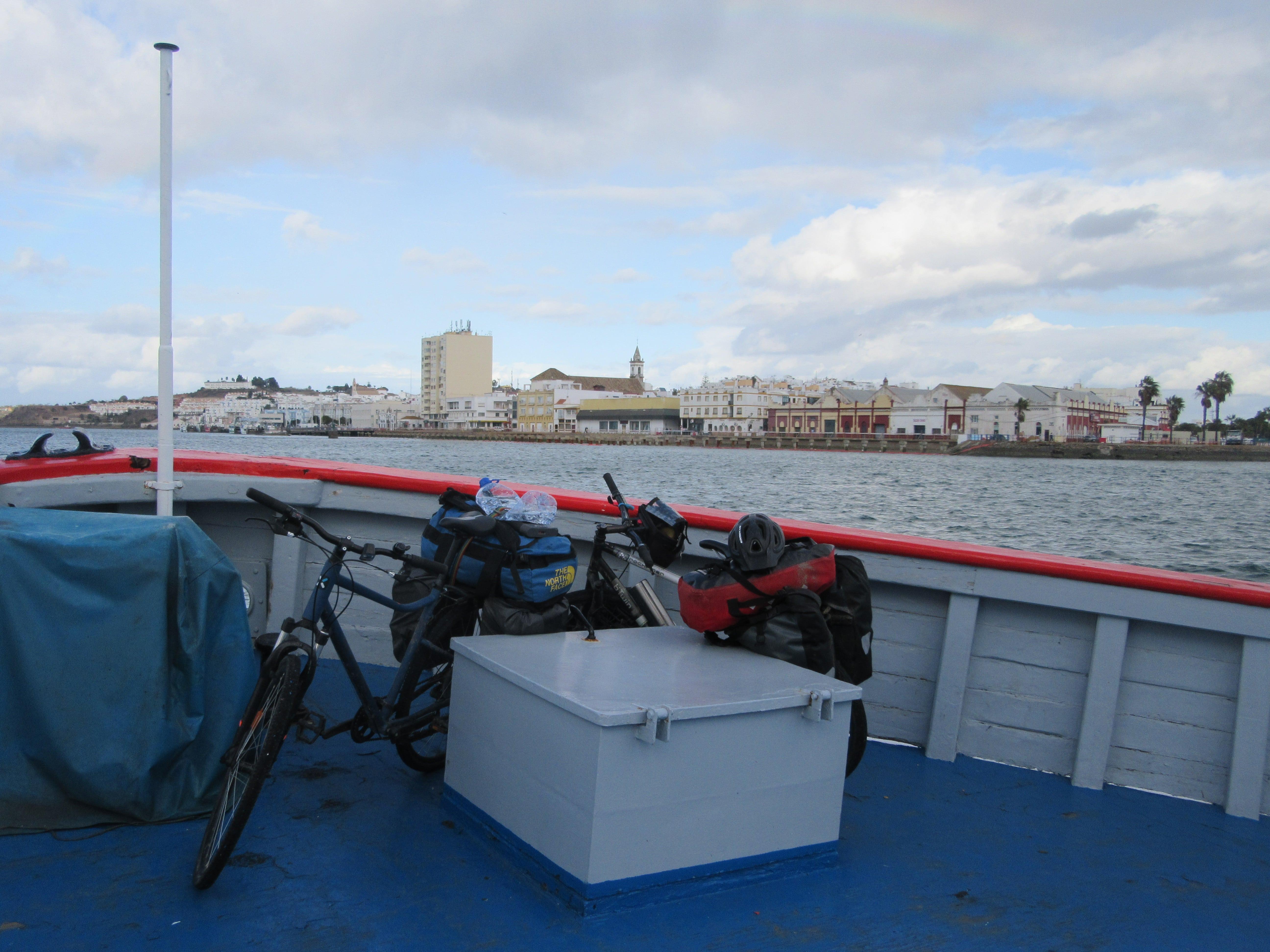 Ferry entre l'Espagne et le Portugal