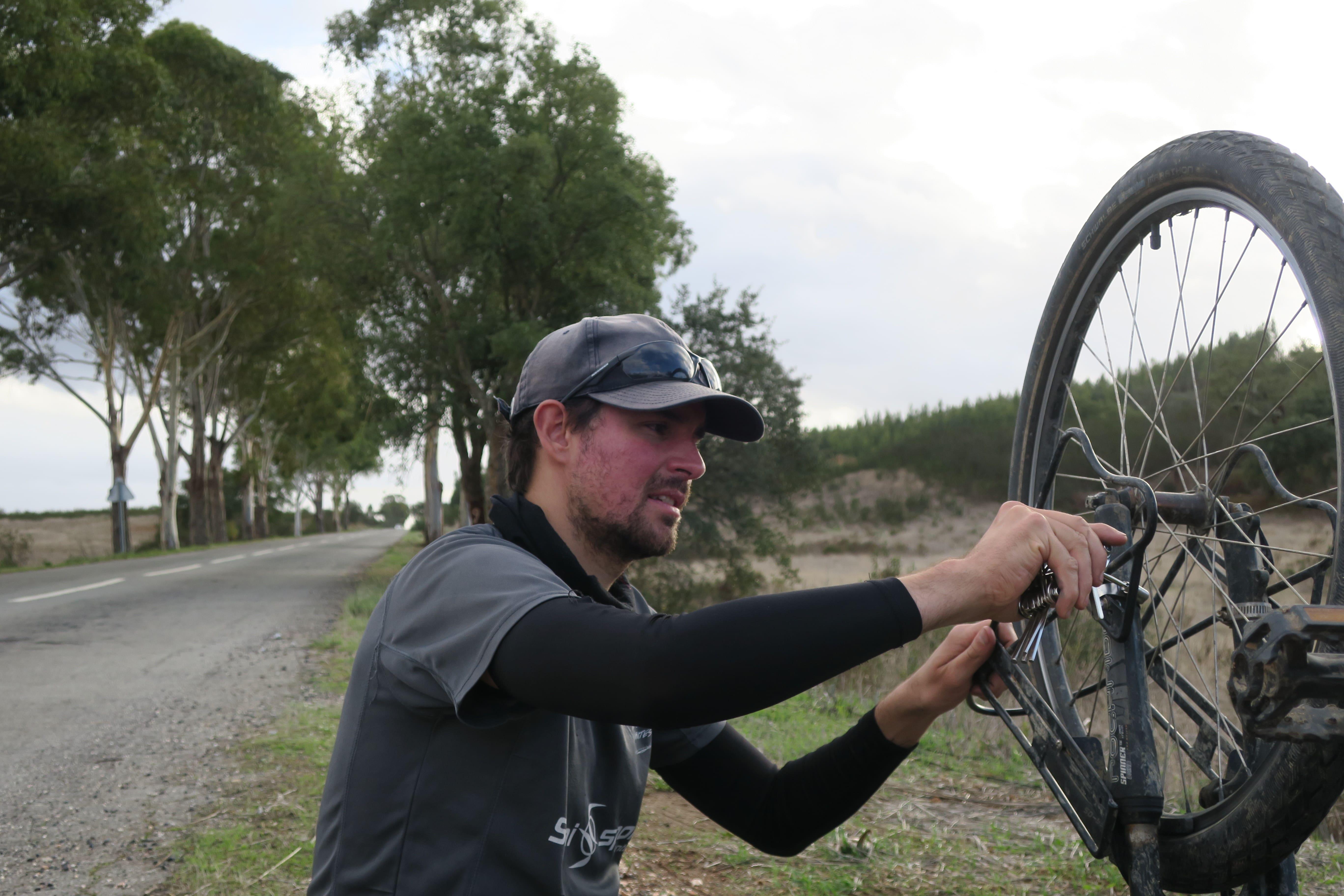 reparation voyage vélo