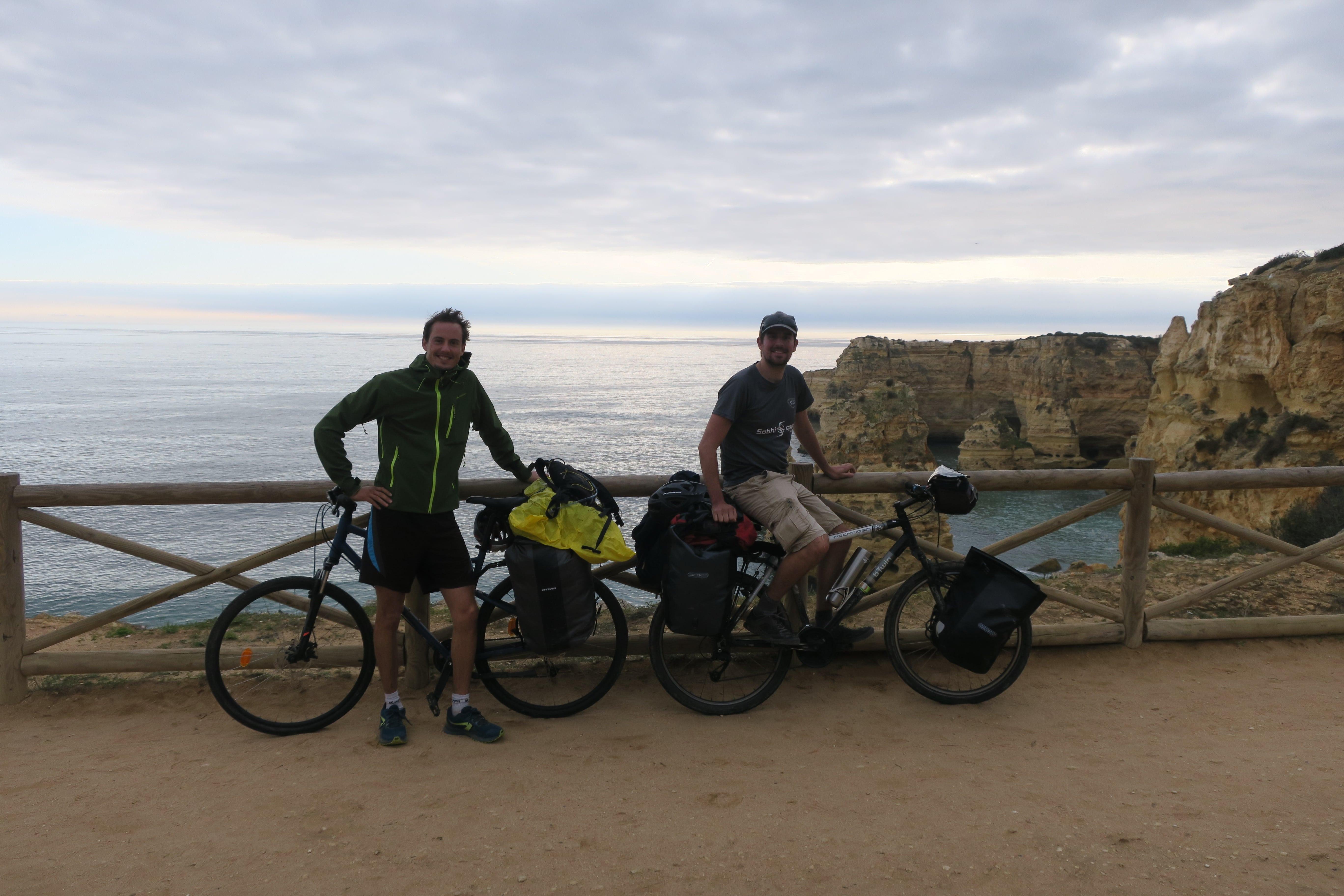 Voyage à vélo en hiver au Portugal Algarve