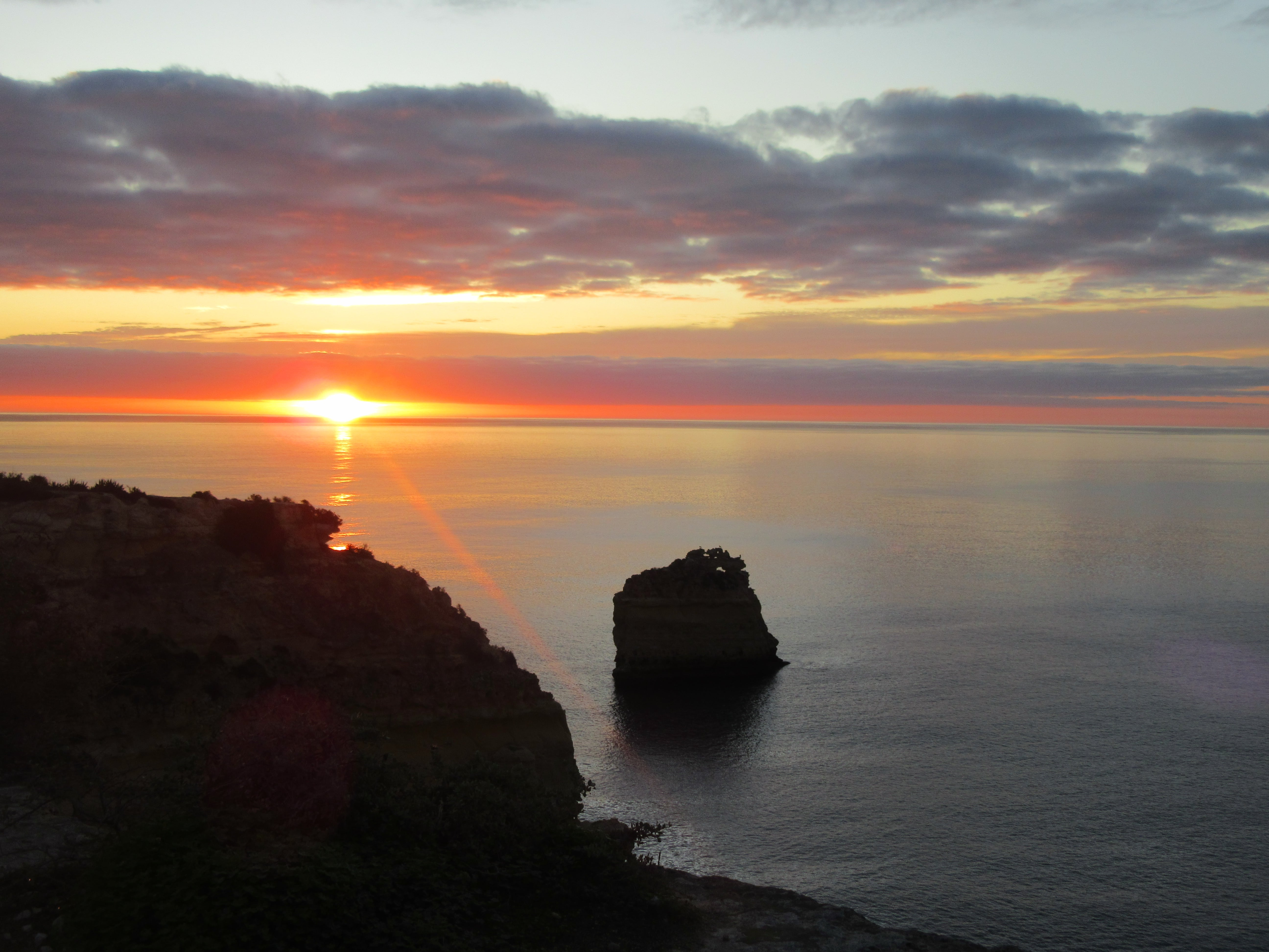 Lever du soleil Algarve