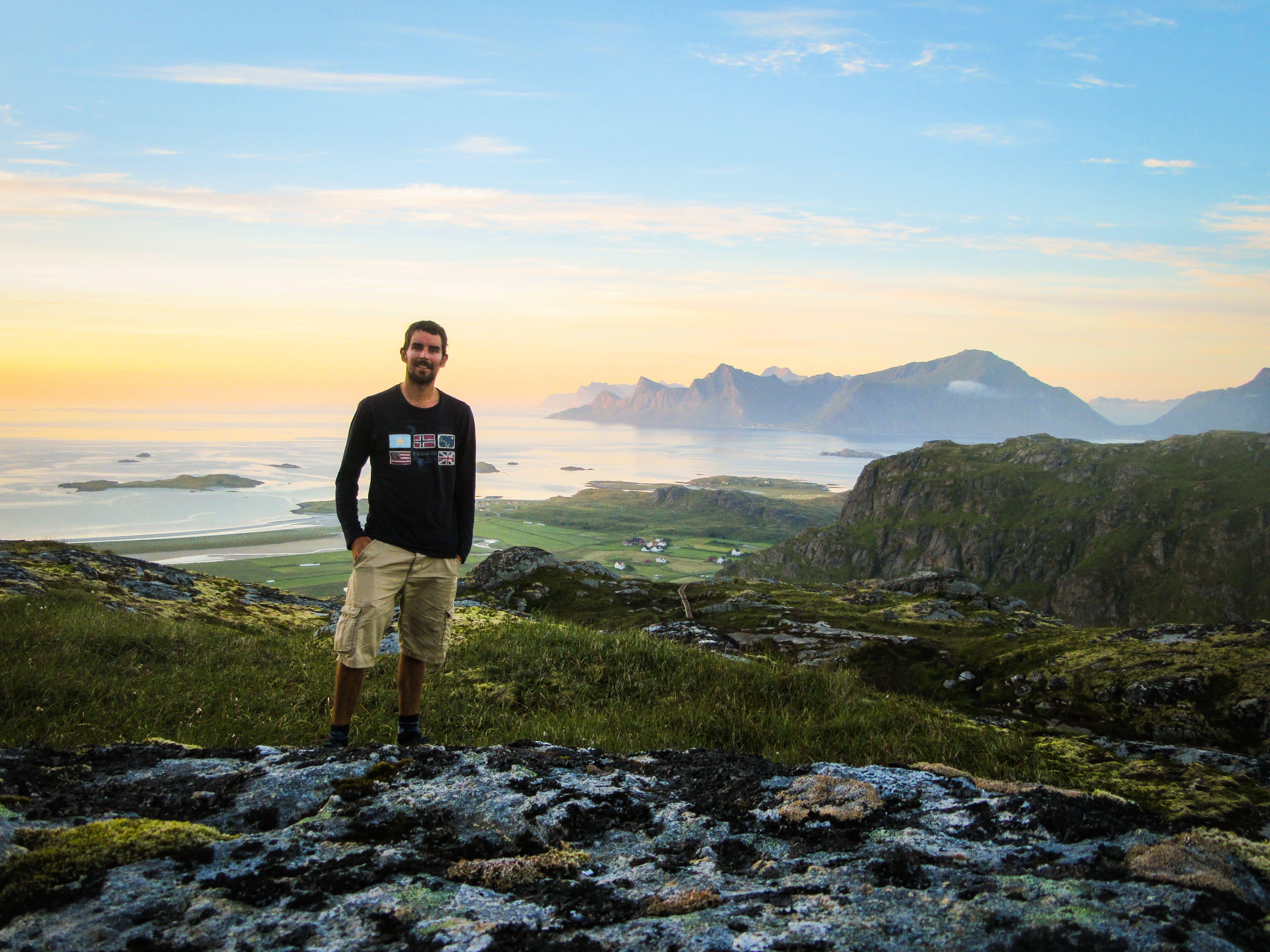 Randonnée ile Lofoten en Norvège