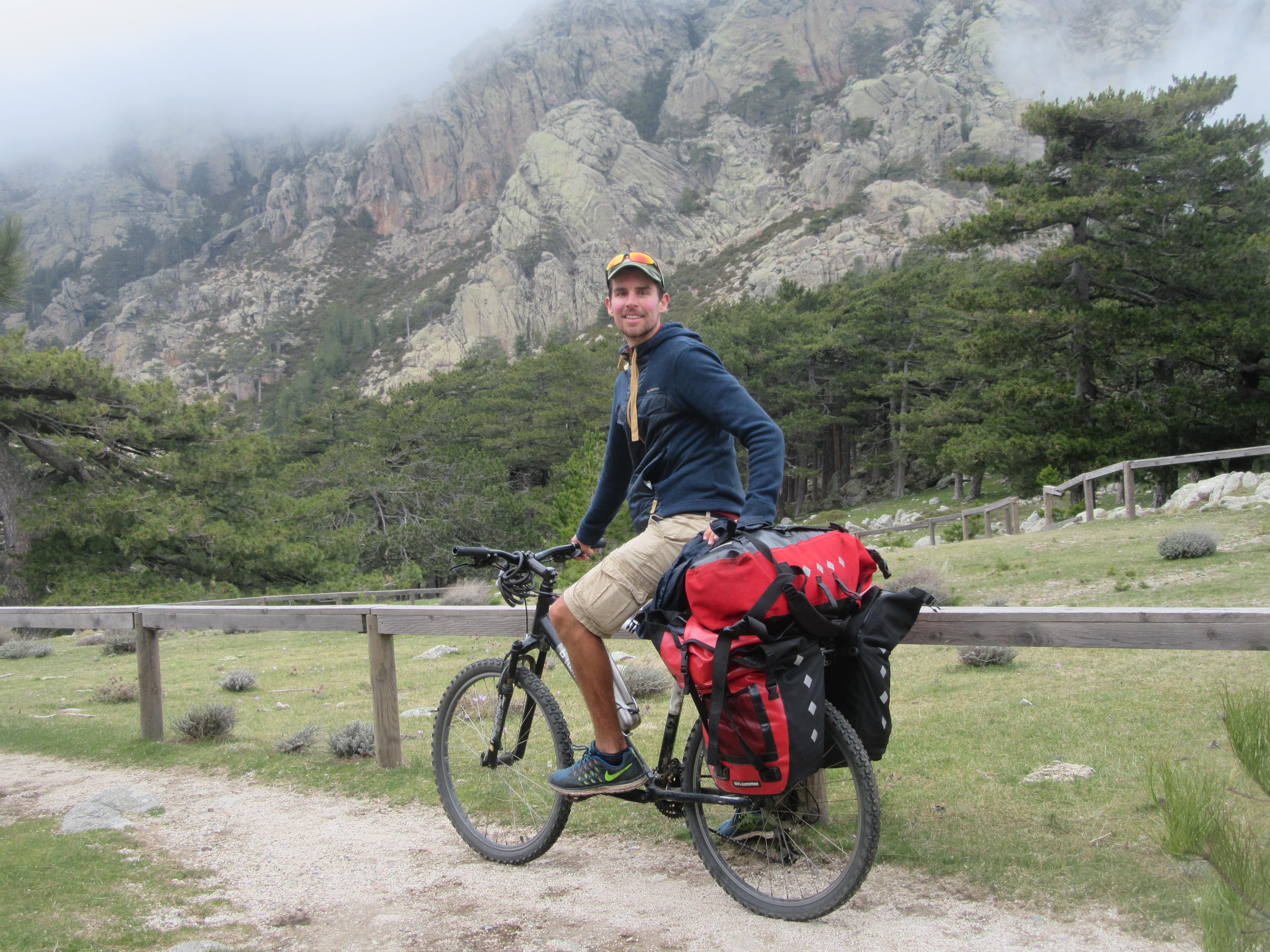 voyage a vélo en Corse