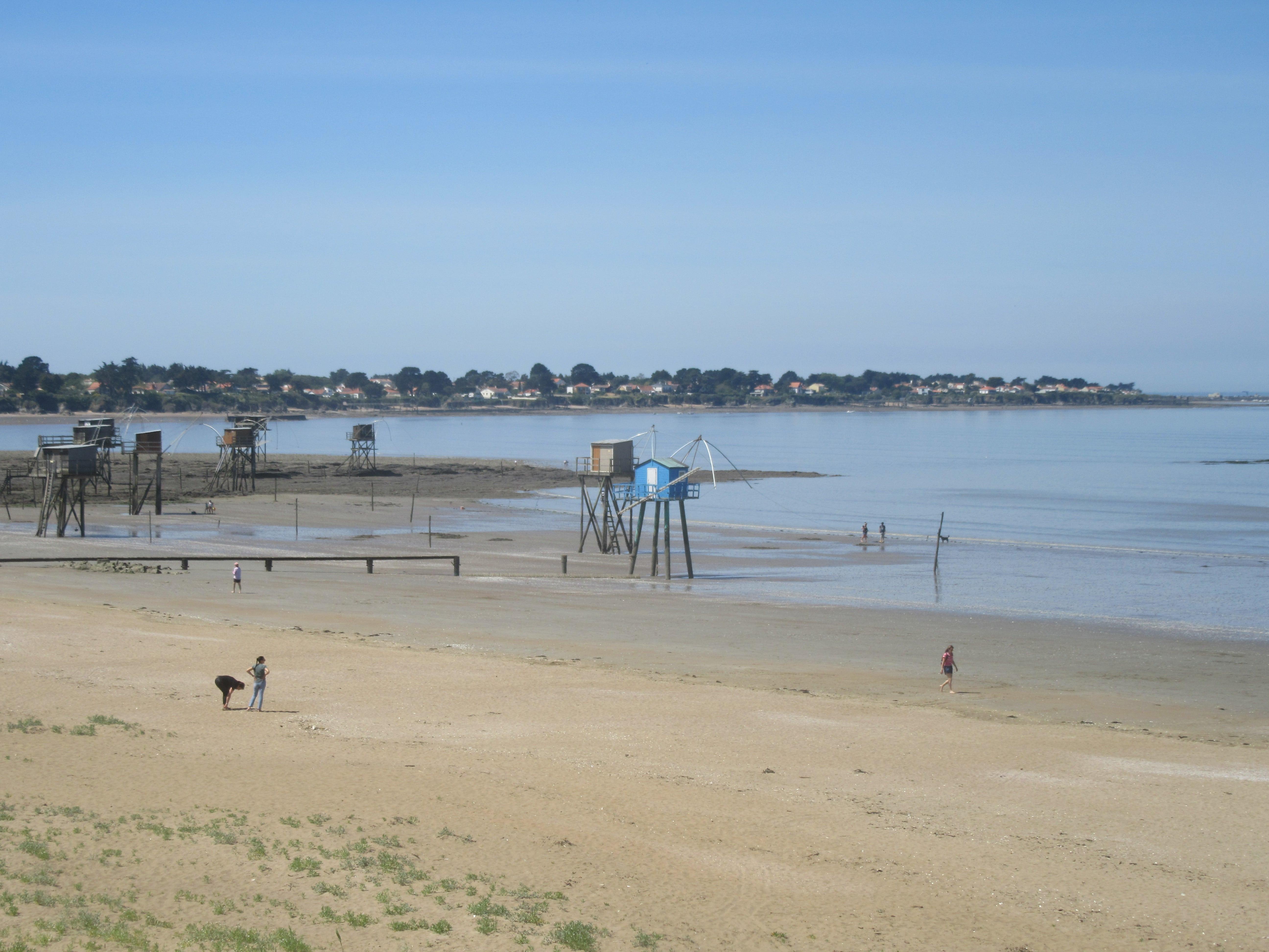 Les pécheries de Tharon plage à Saint Michel Chef chef
