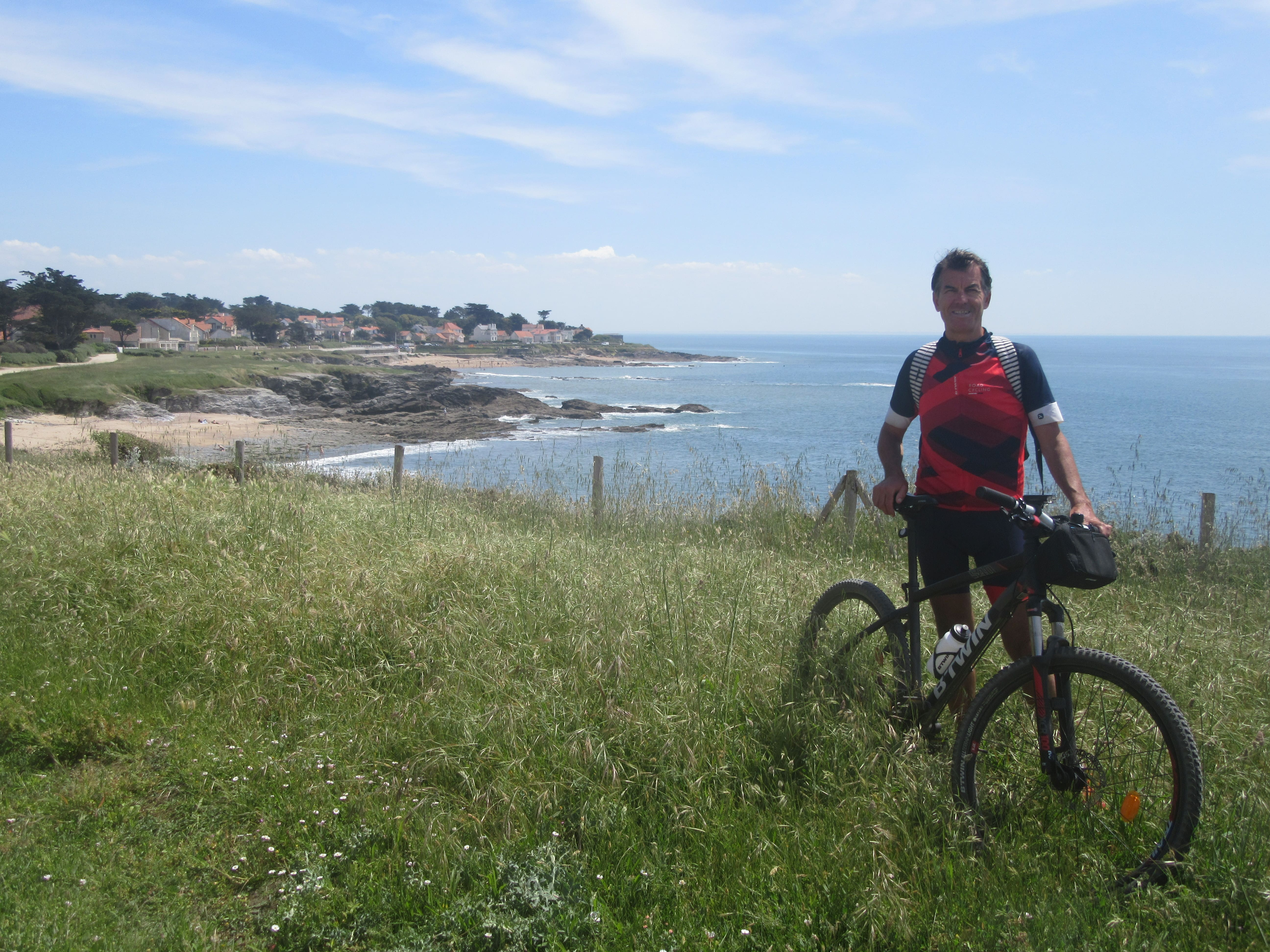 La côte sauvage de la Vélodyssée à Préfailles