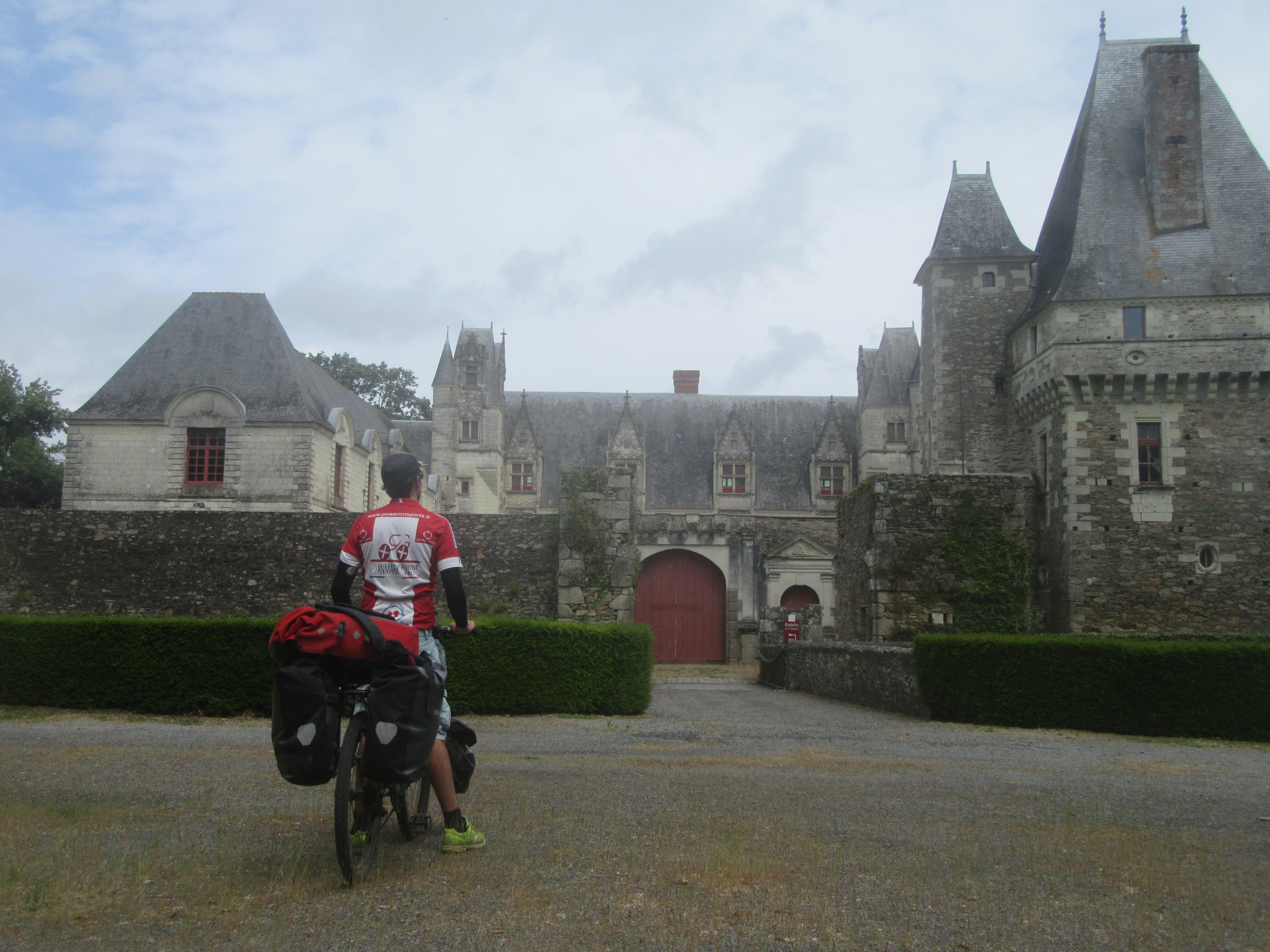 le chateau de Haute Goulaine à vélo