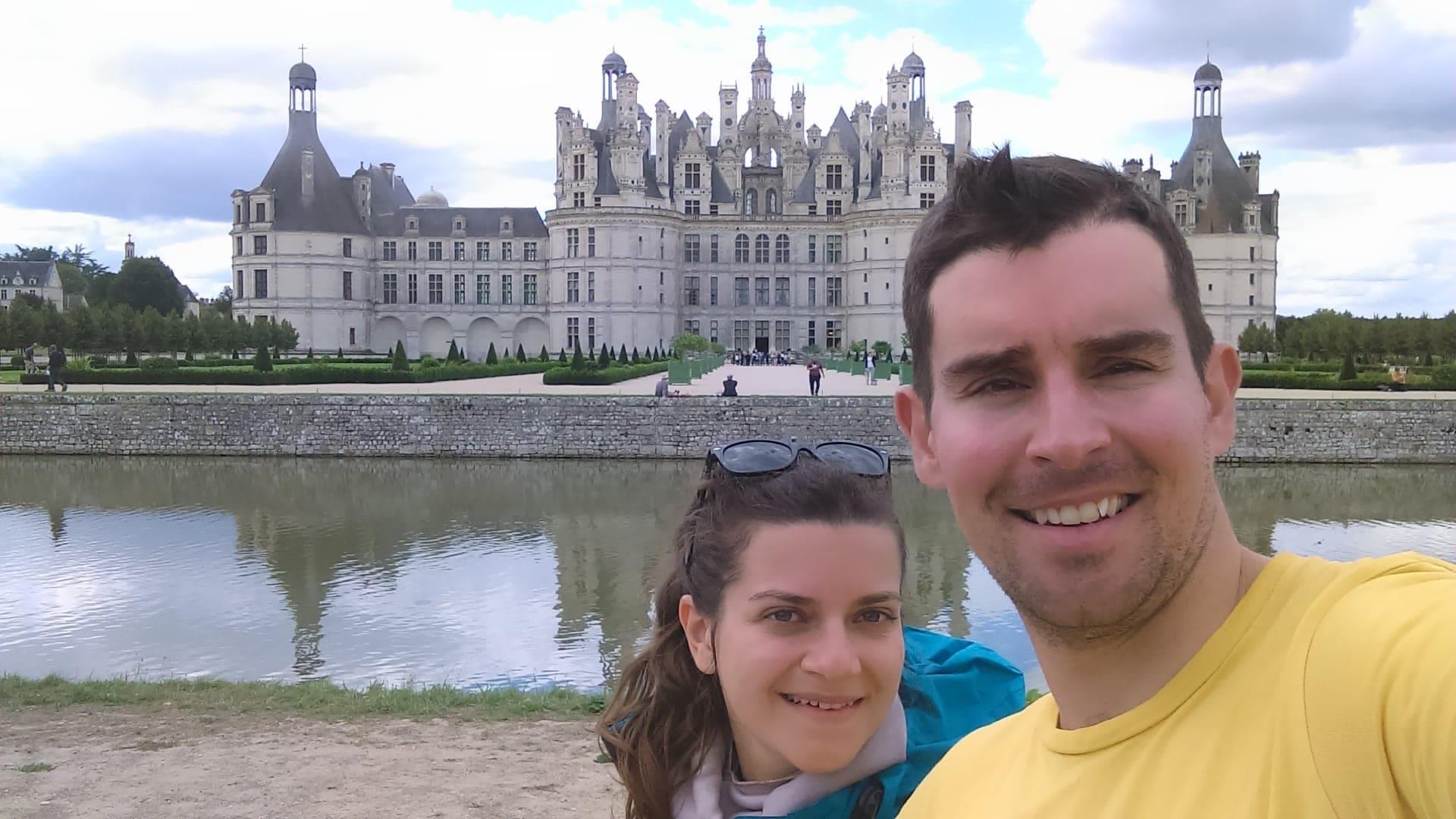 Voyage à vélo chateau de Chambord