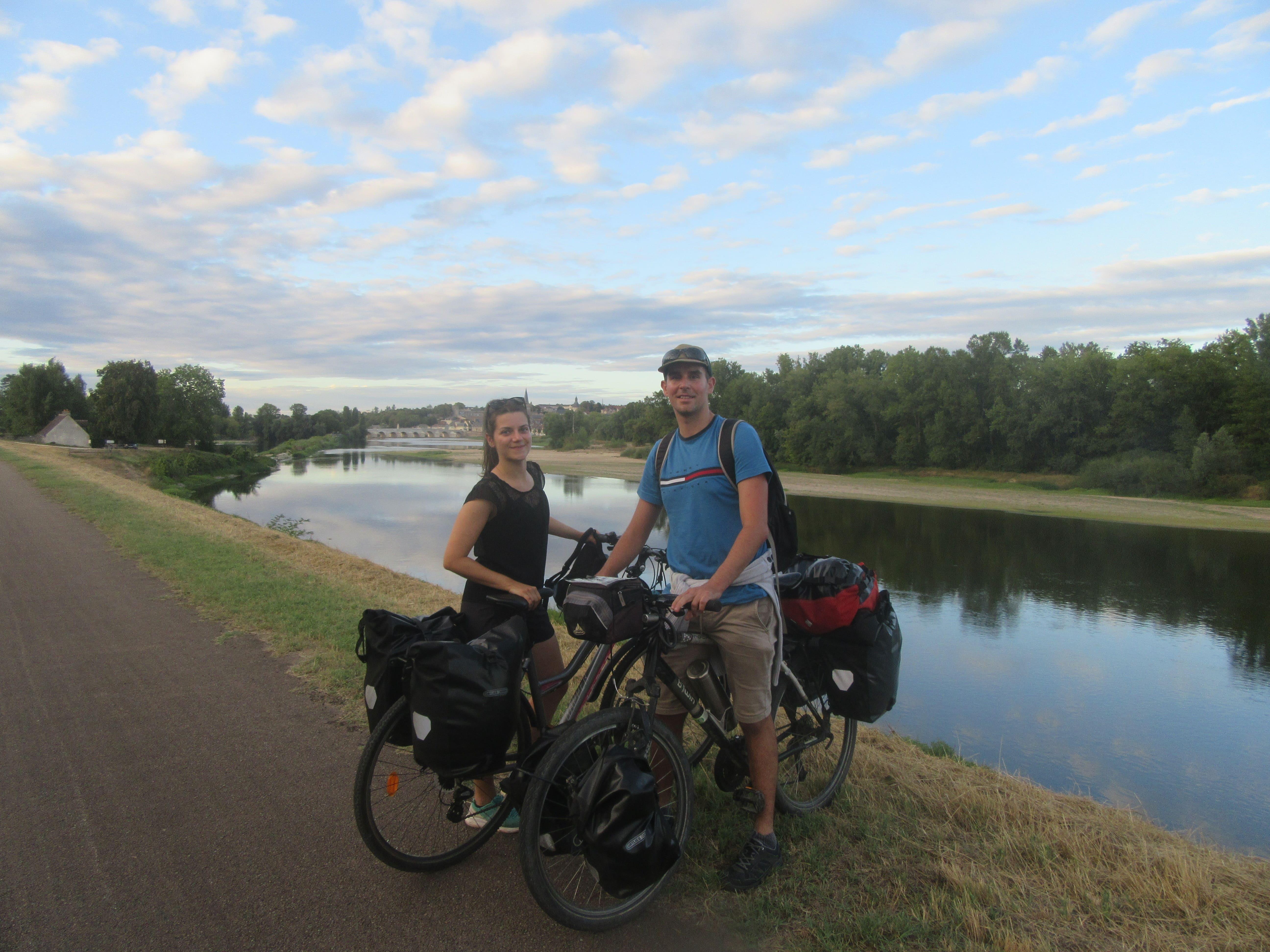 La Loire à Vélo entre Nevers et Tours