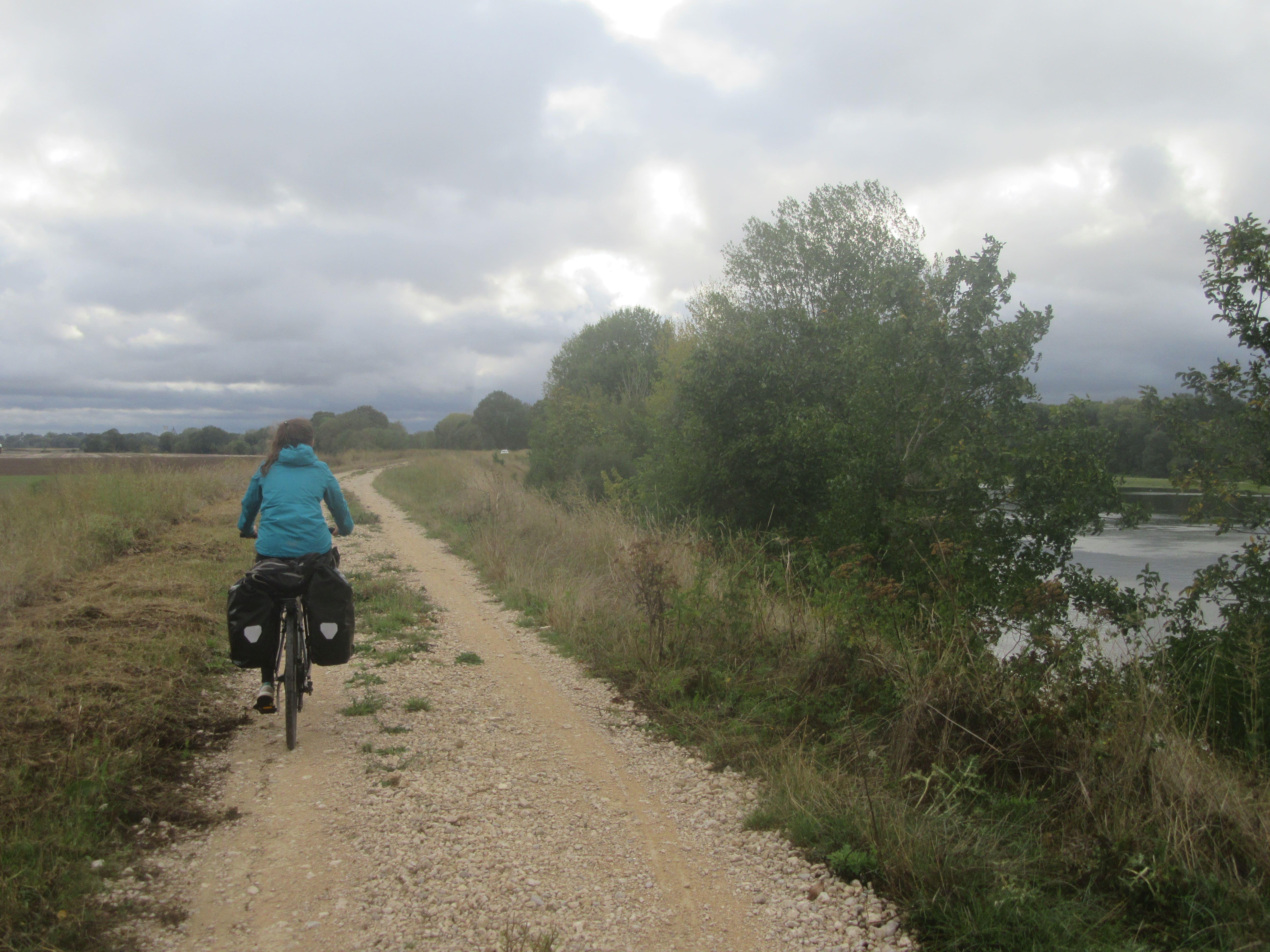 La Loire à Vélo entre Orléans et Blois