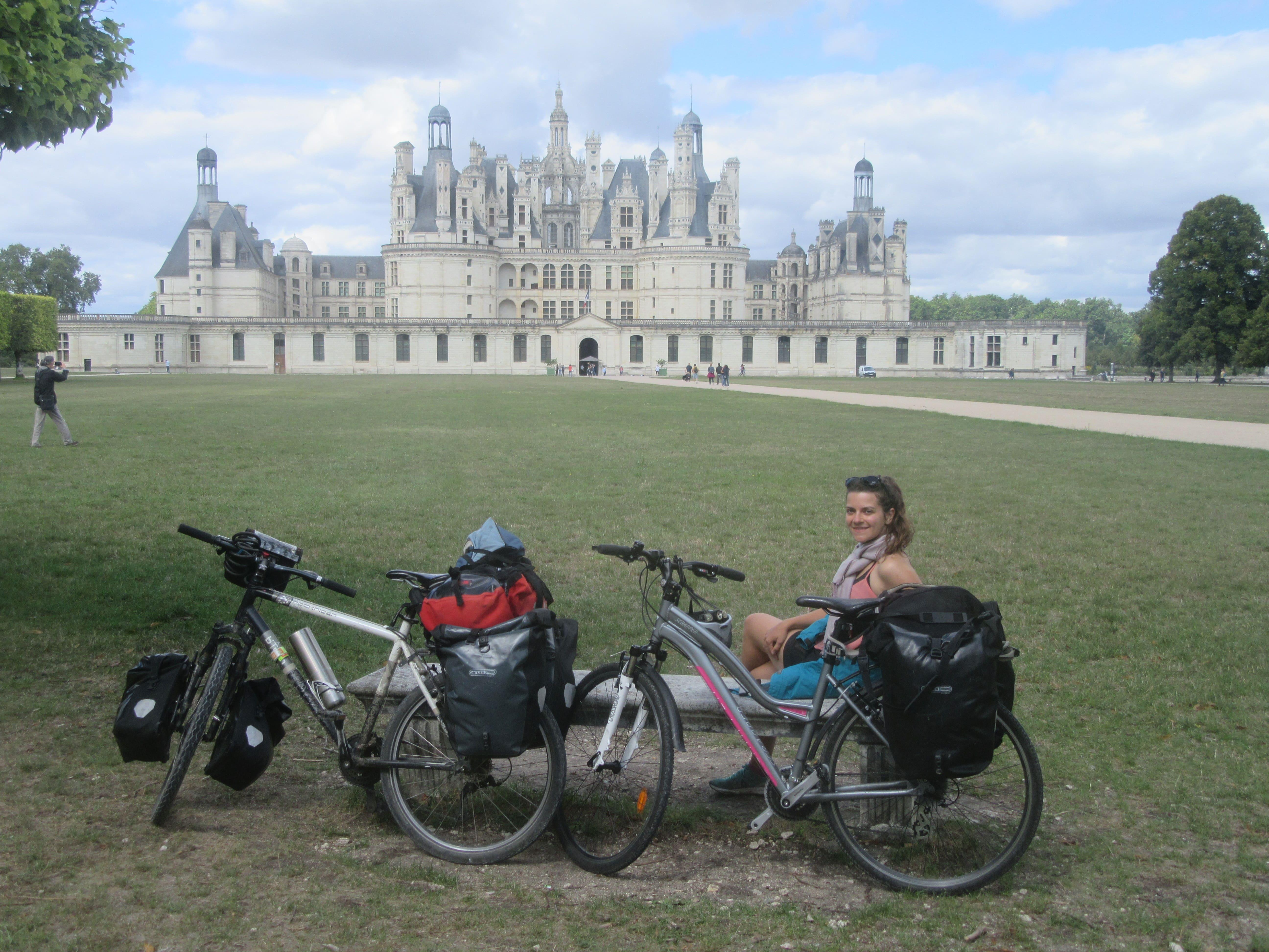 Voyage à vélo Chambord Loire à Vélo