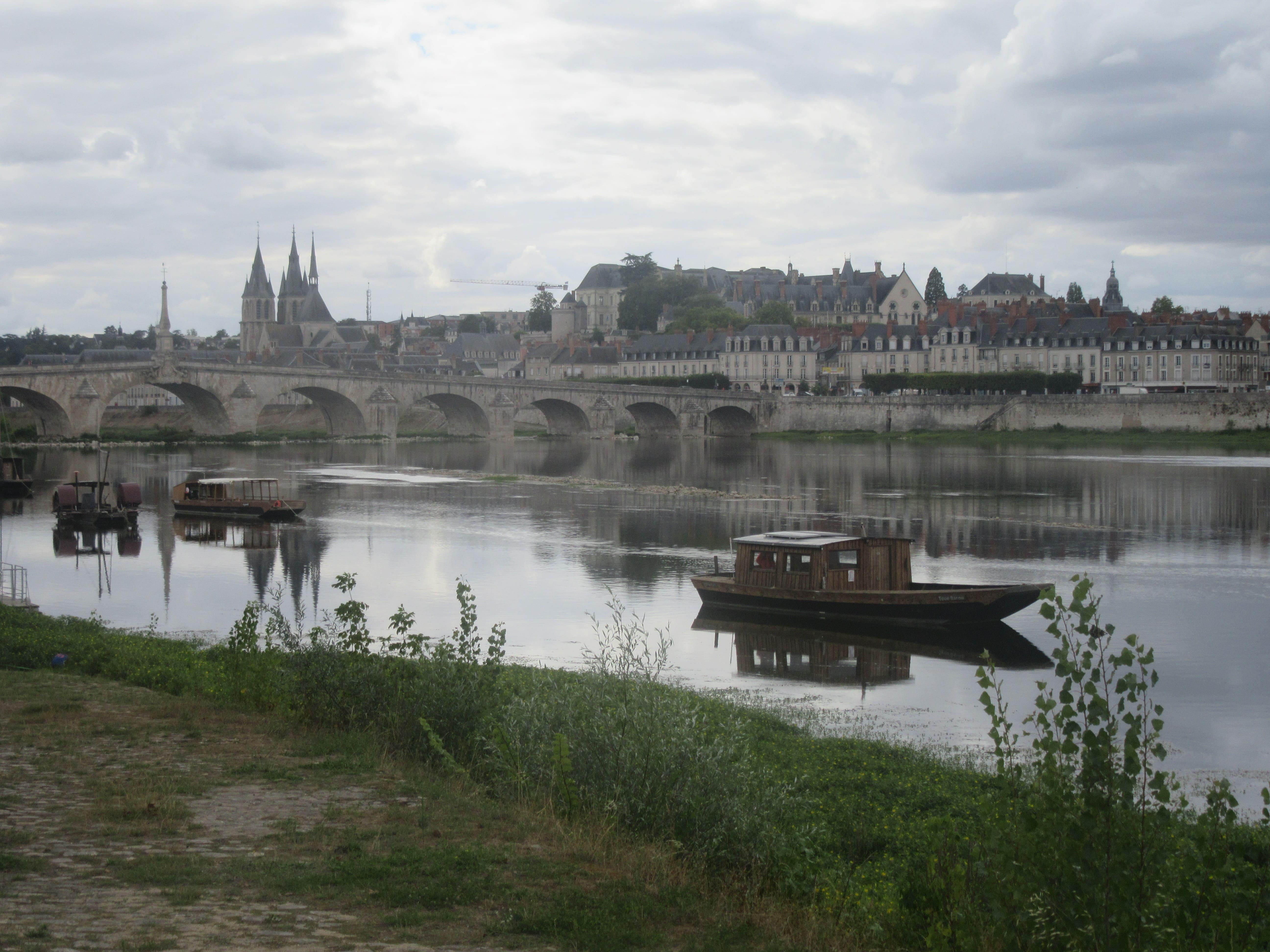 Blois sur la Loire à Vélo