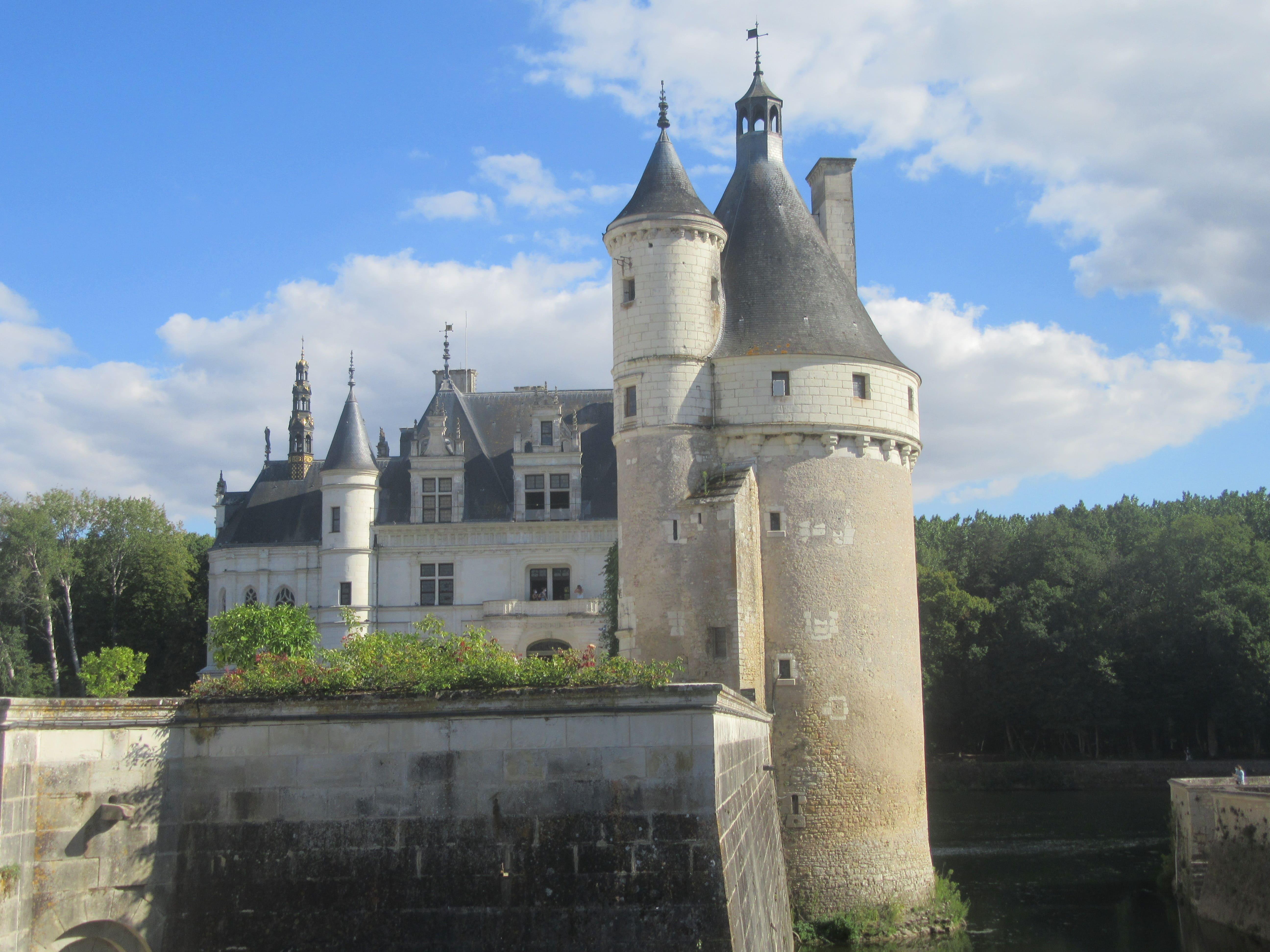 Le chateau de Chenonceaux - Loire à Vélo