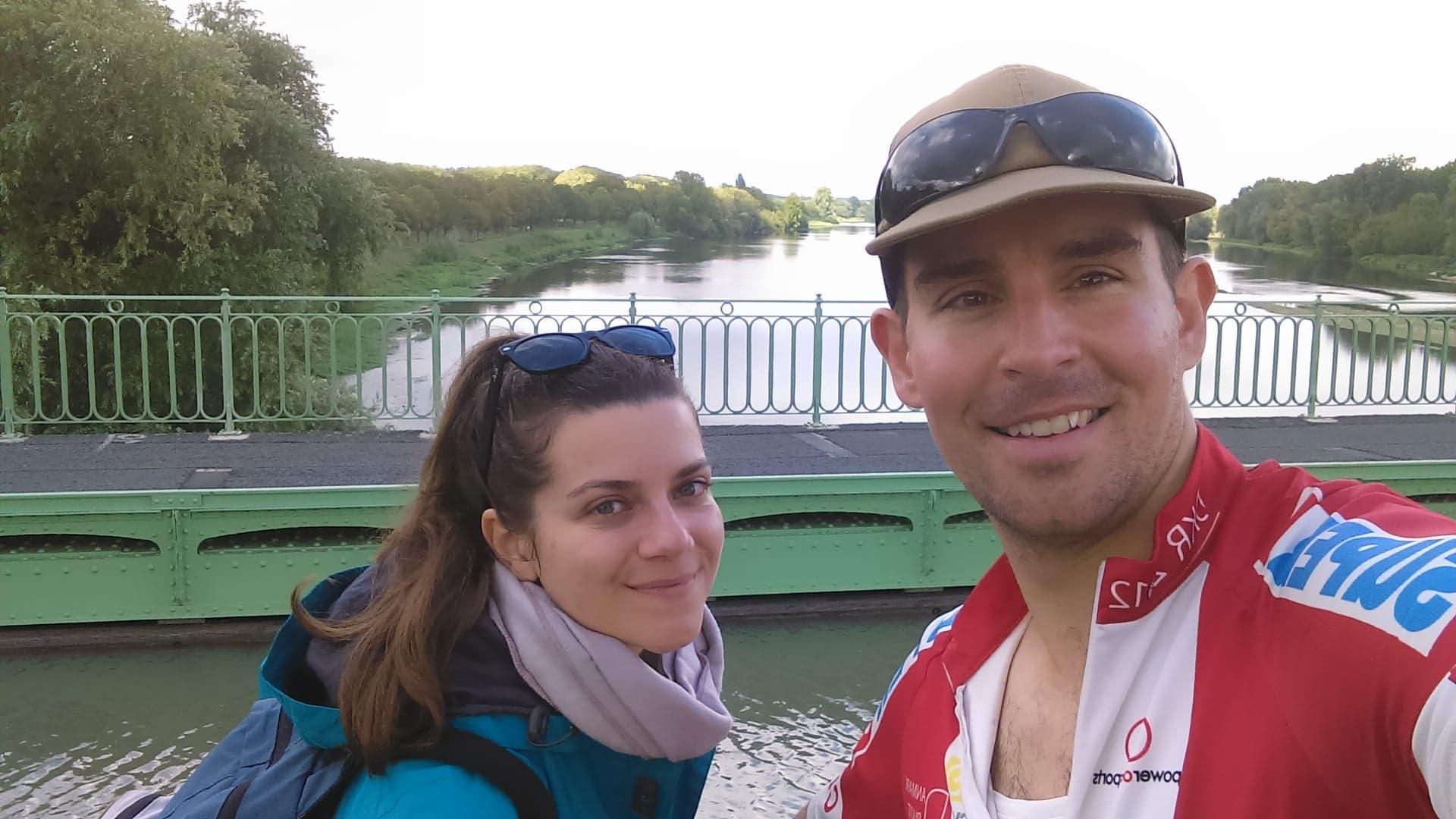 Le pont canal de Briare sur la Loire à Vélo