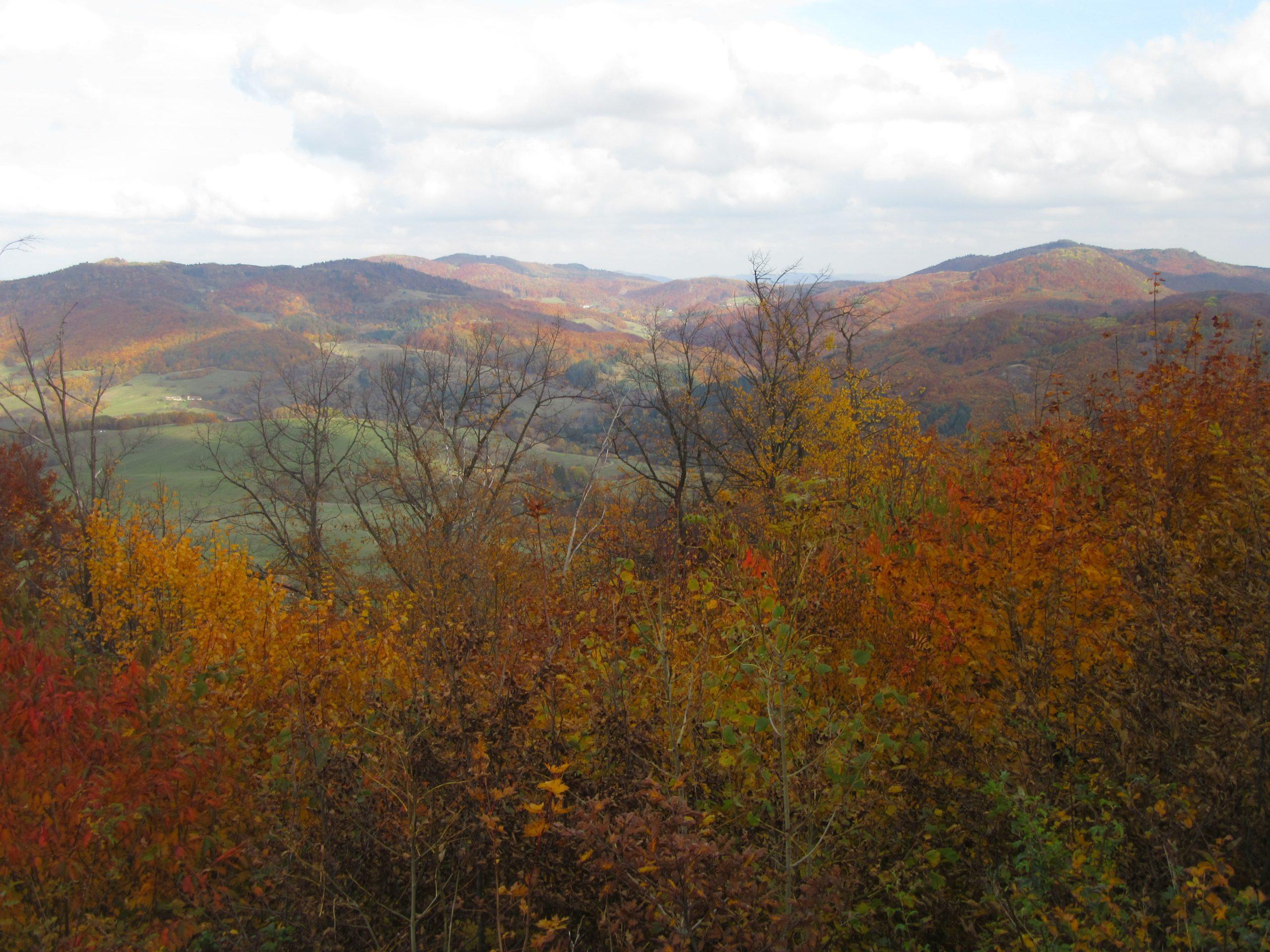 montagne en Slovaquie à l'automne