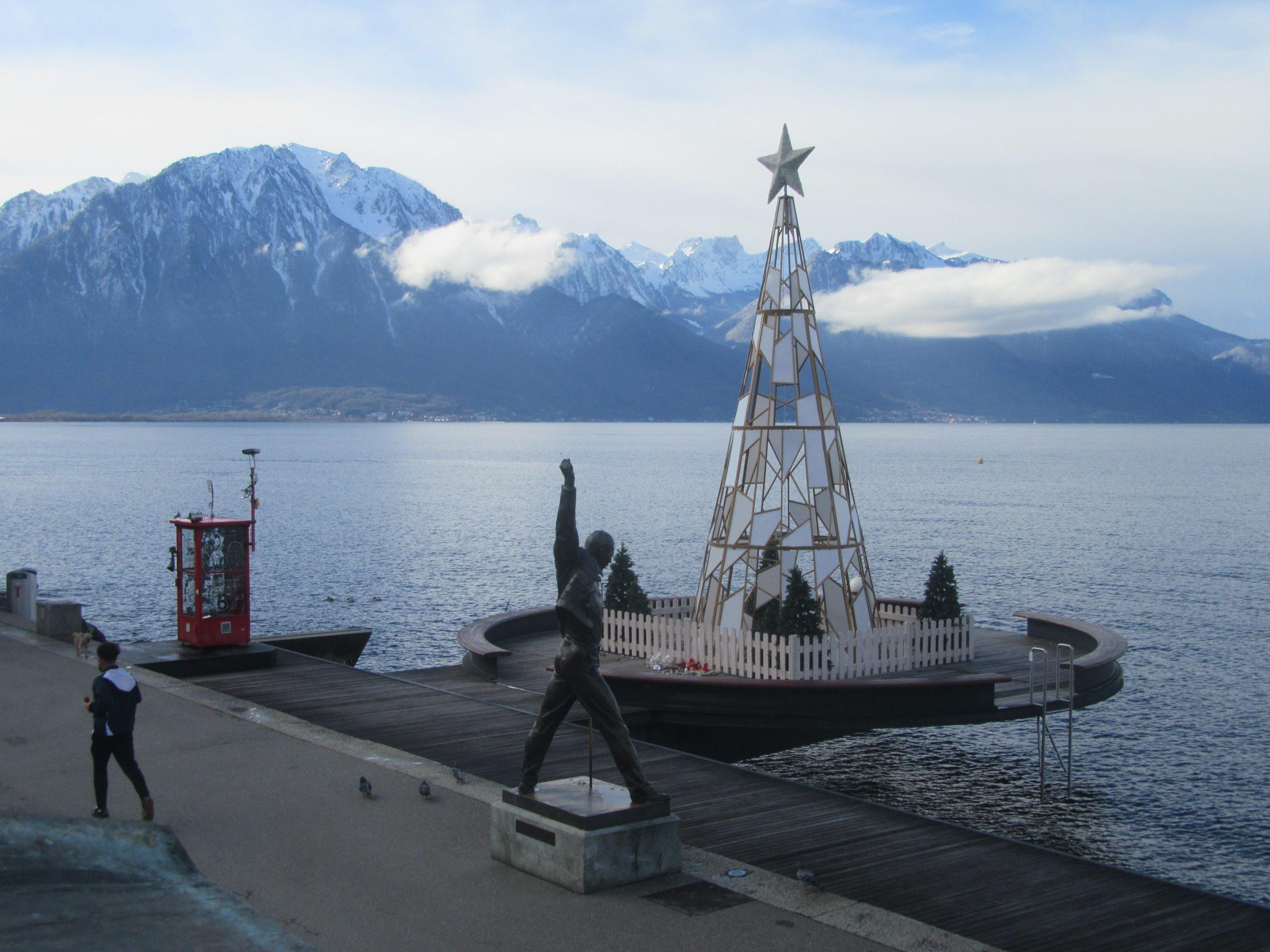 Balade sur les bords du lac Léman à Montreux