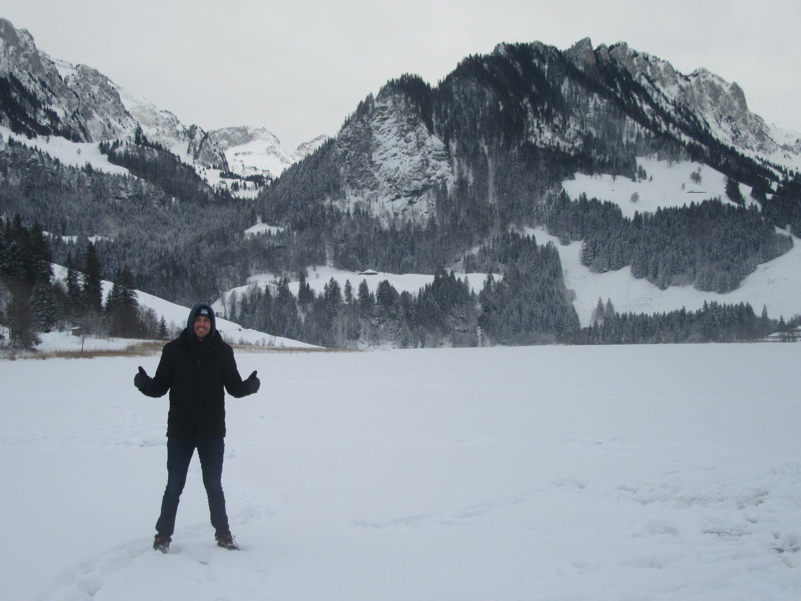schwarzsee lac en Suisse