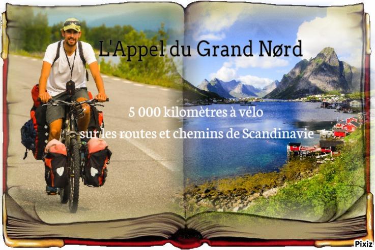 livre voyage à vélo en Scandinavie